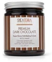 Shea Terra Organics Premium Dark Chocolate Sugar-Stone Exfoliating Cream