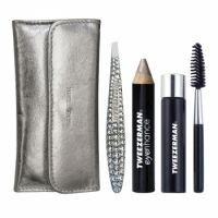 Tweezerman Luxe Edition Mini Crystal Brow Kit