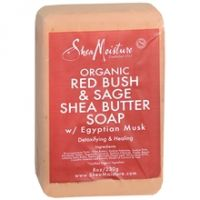 Shea Moisture Organic Red Bush & Sage Shea Butter Soap