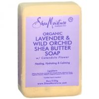 Shea Moisture Organic Lavender & Wild Orchid Shea Butter Soap