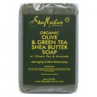 Shea Moisture Organic Olive Green Tea Avocado Soap