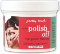 Pretty Touch Polish Off Nail Polish Remover