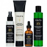 Philip B. Four Step Hair & Scalp Facial Treatment Set Paraben Free