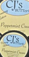 CJ's BUTTer Peppermint Cream Lotion