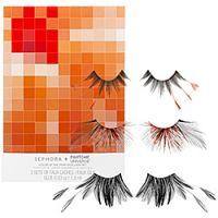 Sephora + Pantone Universe Tangerine Tango Faux Lashes Set