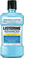 Listerine Advanced Listerine Antiseptic Mouthwash with Tartar Protection