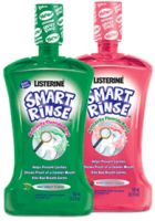 Listerine Smart Rinse Post-Brush Anticavity Fluoride Rinse