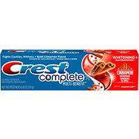 Crest Complete Multi-Benefit Whitening + Cinnamon Expressions - Cinnamon Rush