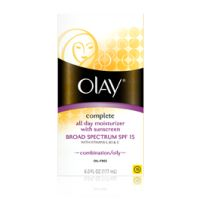 Olay Complete All Day Moisturizer with Sunscreen Broad Spectrum SPF 15 - Combination/Oily