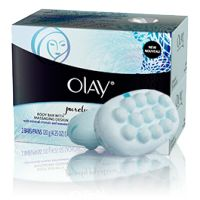 Olay Purely Pristine Massaging Bar Soap