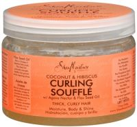 Shea Moisture Coconut & Hibiscus Curling Souffle Gel