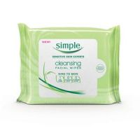 Simple Facial Cleansing Wipes