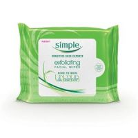 Simple Facial Exfoliating Wipes