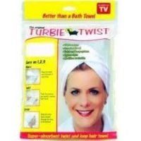 The Original Turbie Twist Super Absorbent Hair Towel