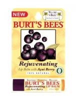 Burt's Bees Rejuvinating Lip Balm With Acai Berry