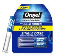 Orajel Single Dose Patented Cold Sore Treatment