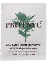Priti NYC Soy Nail Polish Remover Wipes