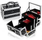 Shany Cosmetics Mini Makeup Train Case in Black