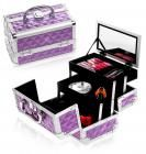 Shany Cosmetics SHANY Mini Makeup Train Case in Purple