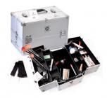 Shany Cosmetics Silver Train Case