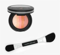 Laura Geller Ombre Baked Blush Gradient Cheek Color with Double-Ended Blush & Highlighter Applicator