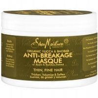 Shea Moisture Organic Anti-Breakage Hair Masque Yucca & Baobab