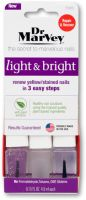 Dr. Marvey's Light & Bright: Renew Yellow/Stained Nails in 3 Easy Steps