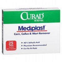 Curad Mediplast Corn, Callus & Wart Remover Pads