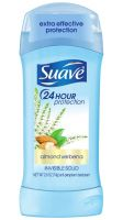 Suave 24-Hour Protection Almond Verbena Invisible Solid Anti-Perspirant/Deodorant