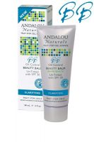 Andalou Naturals Oil Control Beauty Balm Un-Tinted with SPF 30