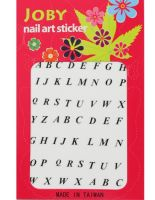 Joby Nail Art Signature Collection -- Alphabet