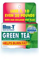 Mega-T Green Tea Dietary Supplement With Hoodia