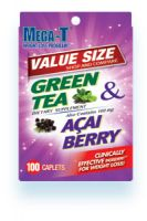 Mega-T Green Tea Weight Loss Packettes with Açai Berry