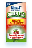 Mega-T Green Tea with Raspberry Ketone & Lychee Berry