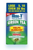 Mega-T Green Tea with 100 mg Green Coffee
