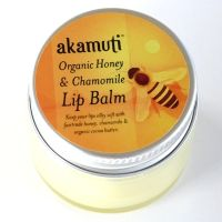 Akamuti Organic Honey & Chamomile Lip Balm