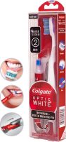 Colgate Optic White Toothbrush + Built-In Whitening Pen