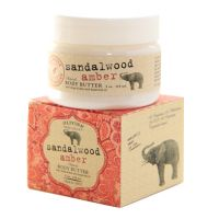 Olivina Napa Valley Sandalwood Amber Natural Body Butter