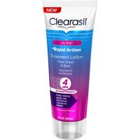 Clearasil Ultra Rapid Action Face, Chest & Back Treatment Lotion