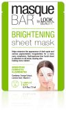 Masque Bar by Look Beauty Brightening Sheet Masque