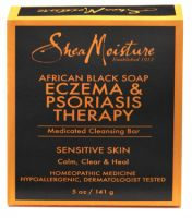 Shea Moisture African Black Soap Eczema & Psoriasis Therapy Medicated Soap