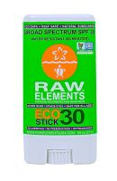 Raw Elements SPF 30 Sunscreen Eco Stick