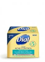 Dial Acne Control Glycerin Body + Face Bar
