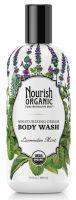 Nourish Organic Moisturizing Cream Body Wash in Lavender Mint