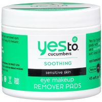 Yes to Cucumbers Eye Makeup Remover Pads