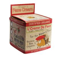 Bubble & Bee Certified Organic Face Cream