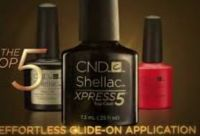 CND Shellac Xpress Top Coat Manicure
