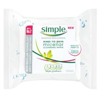 Simple Micellar Makeup Remover Wipes