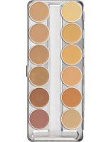 Kryolan Dermacolor Camouflage Creme Palette 12
