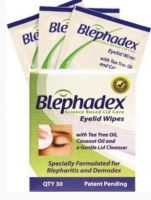 Macular Health Blephadex Eyelid Wipes
